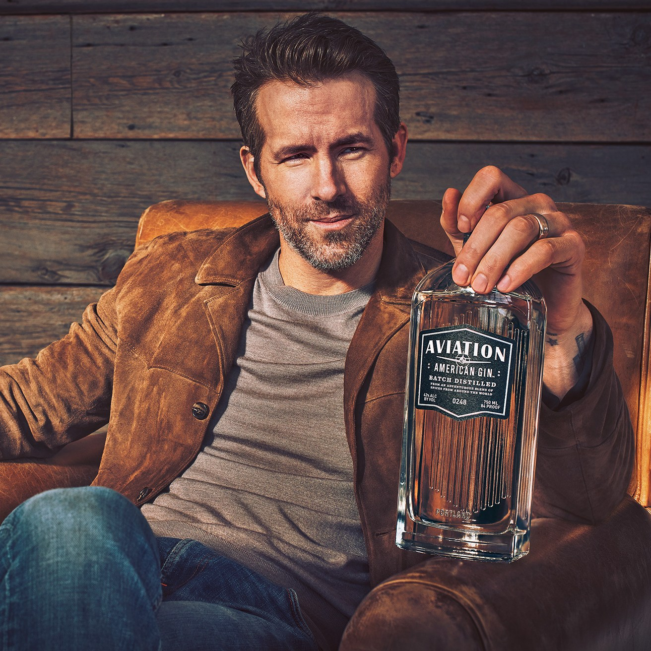 Ryan Reynolds Is the New Owner of Aviation American Gin